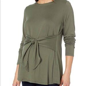 Motherhood maternity long sleeve shirt